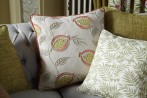 custom made cushions from our iliv fabrics