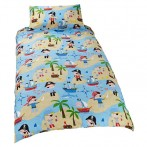 pirate duvet single