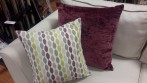 cushion fabric twist elderberry crush sand