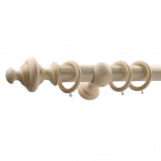 Crown Curtain Tracks Le Royale Collection 50mm Queen Finial