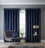 navarra indigo  90 x 90 curtains
