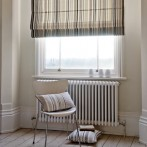roman blind from fabric collection