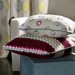 custom made cushions from our fabric collection