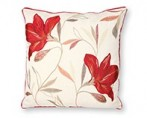 Shelley ruby luxury Feather Filled Cushion