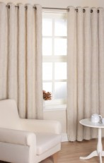Sienna sateen lined Readymade Eyelet curtains