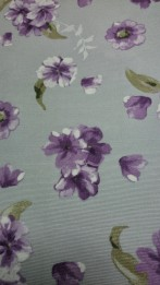 bc grey mauve flower double width 108 ins wide fabric