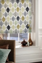 roller blind verve linen matching fabric available