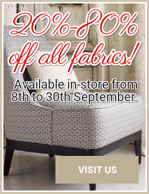 Fabrics Sale Banner