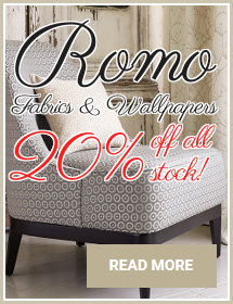 20% Off All Romo Fabrics & Wallpapers
