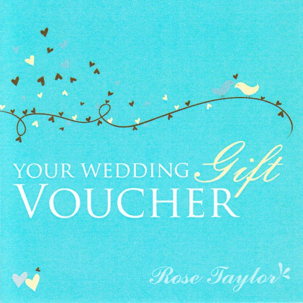 Wedding Gift Vouchers: Rose Taylor Curtains Gift Vouchers